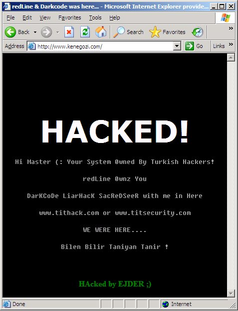 Gosh, my site is hacked
